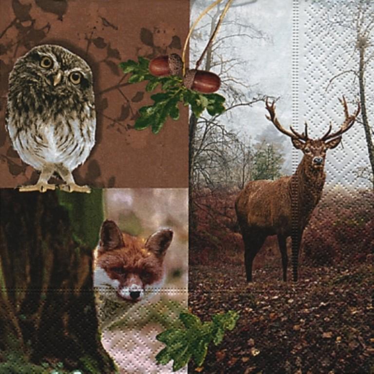 Zeer Dieren in de herfst – Homemade 4 You Uw hobbyshop (web)shop uit #WX11
